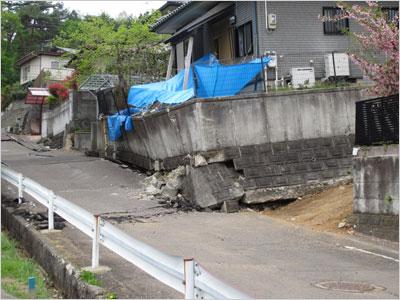 東日本大震災 被害を受けた建物