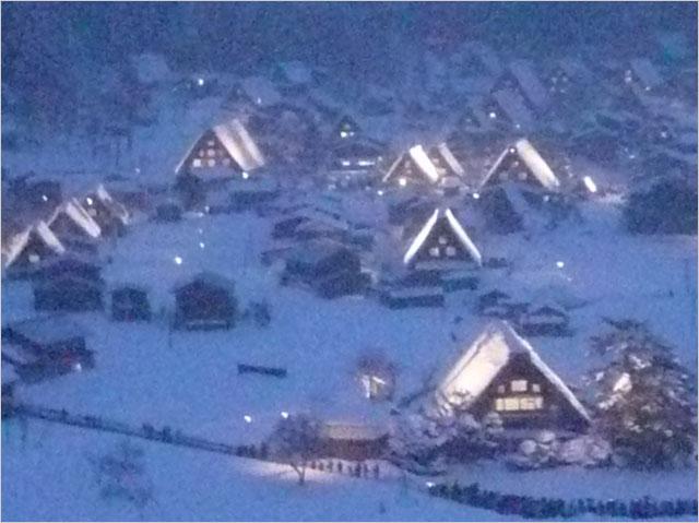 写真1: 2、3百年も住まれて来た豪雪地帯の合掌造り