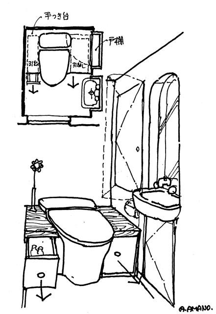 ベンチ式トイレ