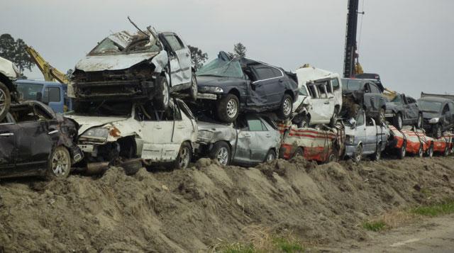 東日本の被災地現況