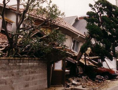 阪神・淡路地震被害例