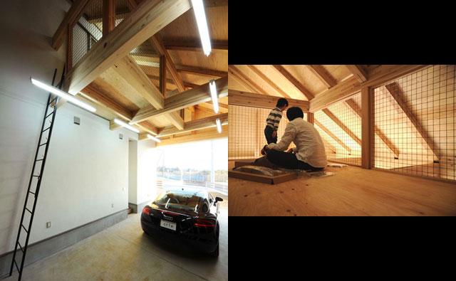 大人の隠れ家空間 ガレージハウス施工事例