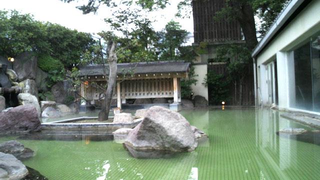 別府温泉しらぎくの庭園温泉