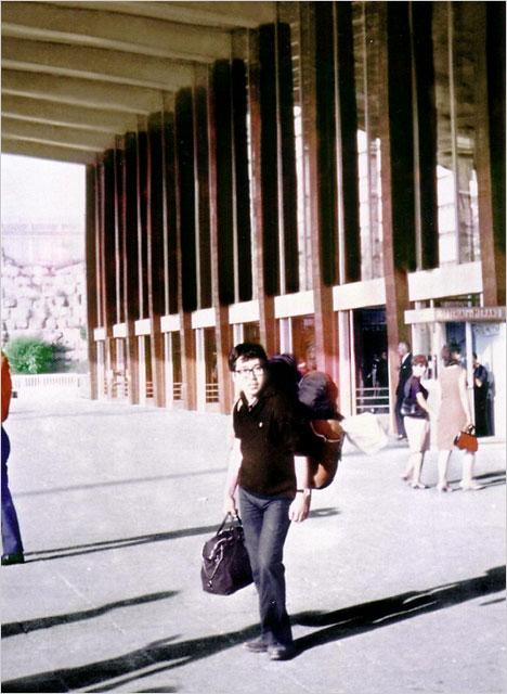 50年前のローマテルミナを歩く天野彰