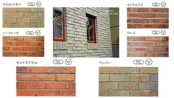 煉瓦の本物の質感はサイディングでは図れません