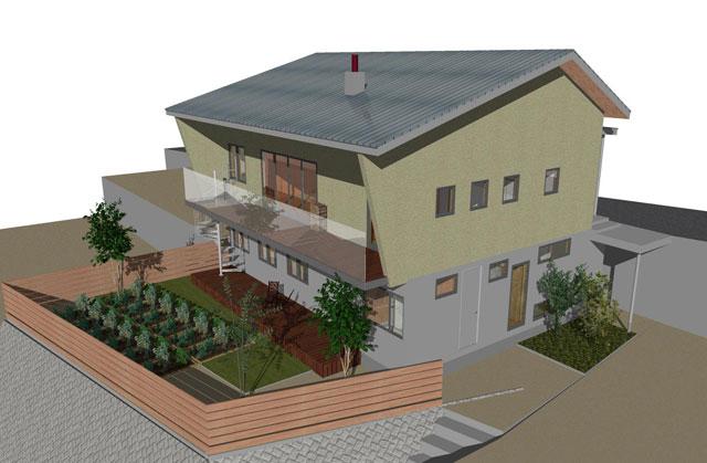 自然エネルギーを取り入れたパッシブデザインハウス例