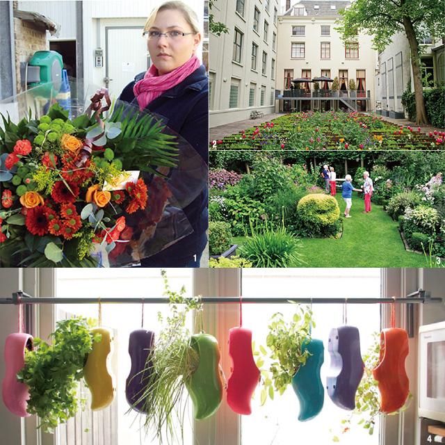 花はオランダのライフスタイルに欠かせないインテリア