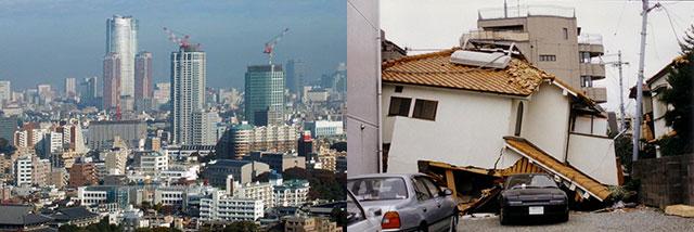 どんどん建つ超高層ビルとマンション