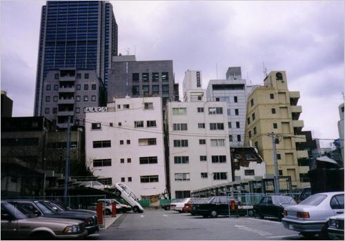 写真1:阪神大震災の惨状(天野 彰撮影)