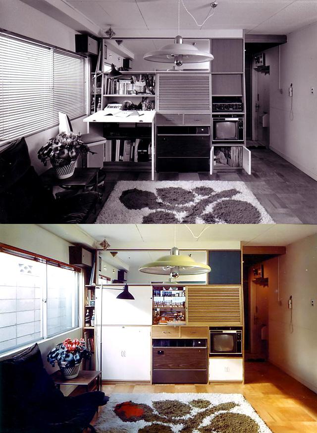 写真:LDKワンルームのマンションリフォーム(A邸)(写真:天野彰)