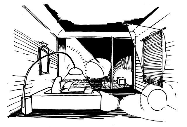 イラスト:住まいを大人のムードに(画:天野彰)