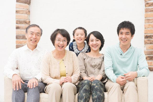親世帯・子世帯で暮らす「三世代同居」がお得!