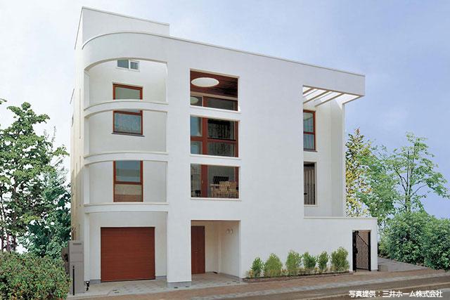 都心で人気の3階建て住宅