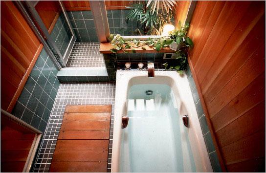 お風呂の素敵な家