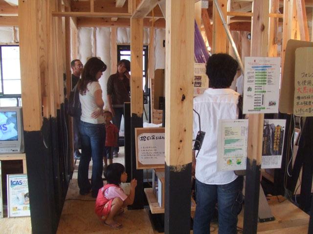 自在に変化する 暮らしをタノシム家 ~構造見学会 in埼玉県狭山市