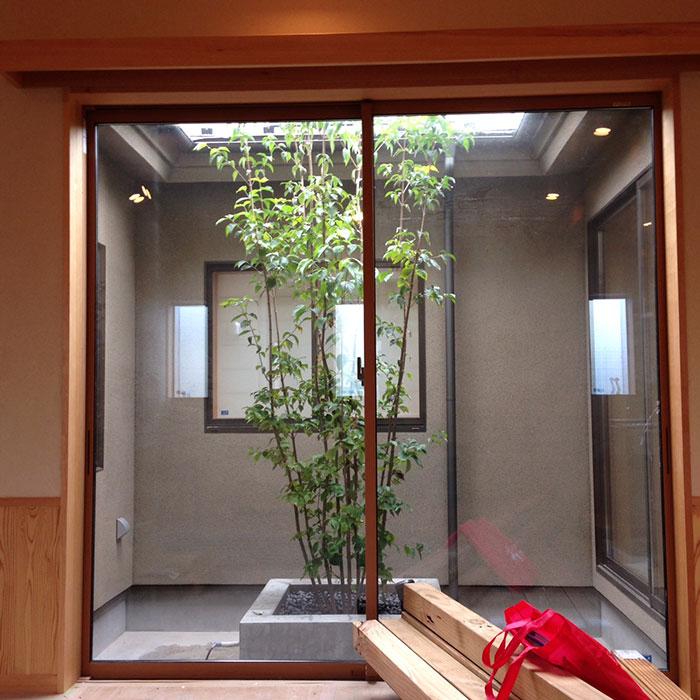 中庭のある平屋の家(長期優良住宅)完成現場見学会 in東京都青梅市